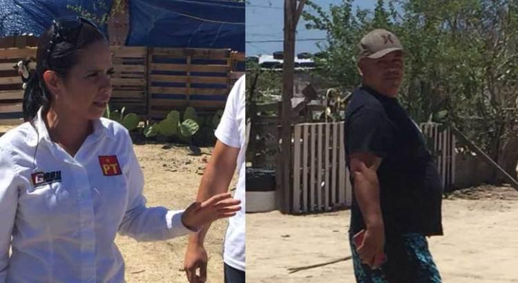Intentó Gaby Montoya sin éxito, parar desalojo en invasiones