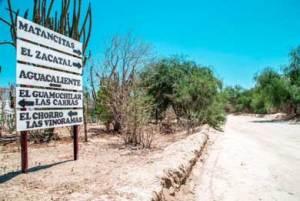 instalación de señalización en las comunidades y rancherías