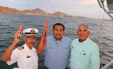 """disparo de salida del Torneo de Pesca """"Cabo Summer Slam"""""""