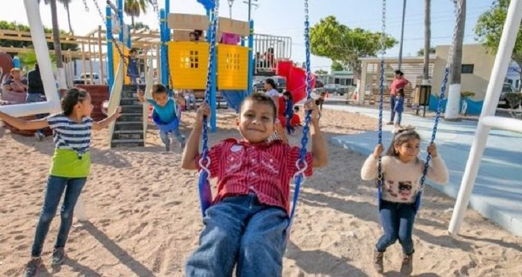 Con más espacios públicos se promueve la sana convivencia familiar