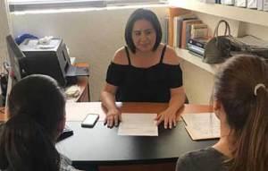 la directora general del IMMLC, Erika Castro Olachea.