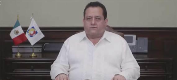 """el gobernador del estado, Carlos Mendoza Davis aseguró que vendrán """"tiempos mejores"""" para Baja California Sur."""