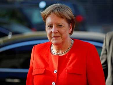 """Promete Merkel """"esfuerzos"""" para evitar guerra comercial con EU"""