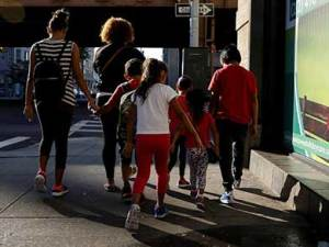 detención de niños migrantes