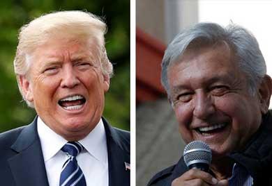 """López Obrador """"una persona estupenda"""""""