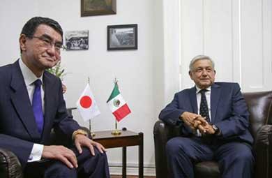 Visitará Japón equipo de López Obrador