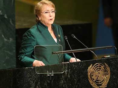 Será Michelle Bachelet la nueva jefa de Derechos Humanos de la ONU