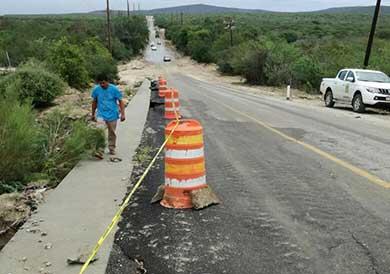 Rehabilitaron el camino a Santa Cruz