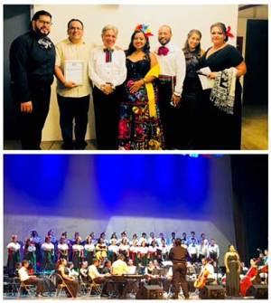 """concierto denominado """"Raíces: Alma, Corazón y Vida"""", en el Pabellón Cultural de la República"""