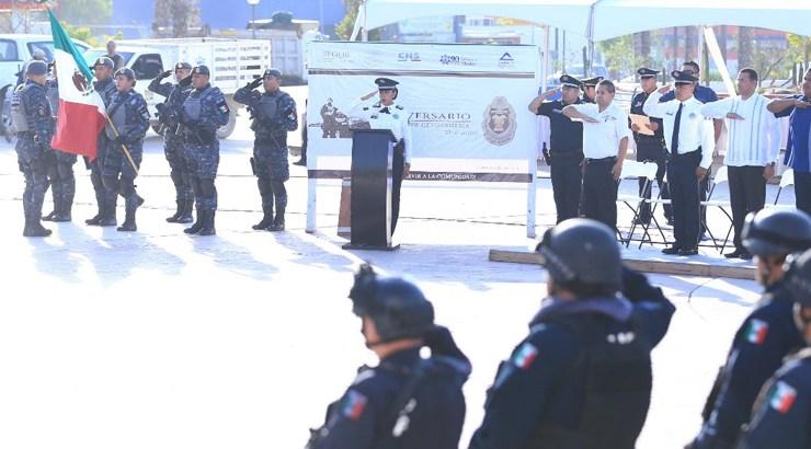 Celebra Gendarmería su 4º. Aniversario
