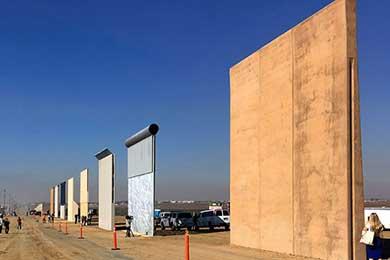 Va California contra muro fronterizo de Trump