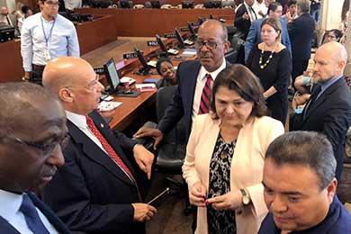 Crea OEA grupo de trabajo para crisis en Nicaragua