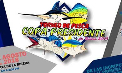 """Invitan a la """"Copa Presidente 2018"""""""