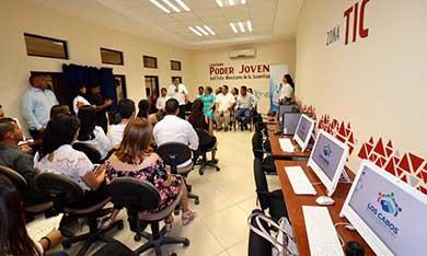 Los Cabos, 1er. Municipio en contar con 5 Centros Poder Joven
