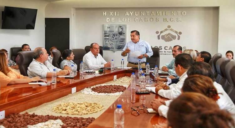 Reunión para transición de áreas públicas