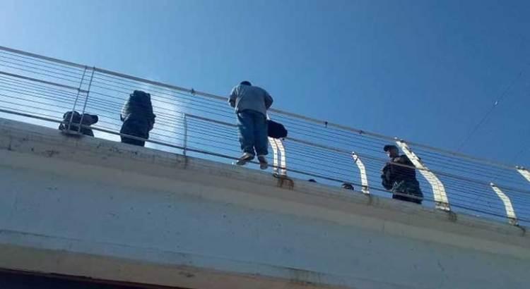 Se lanzó desde un puente en CSL