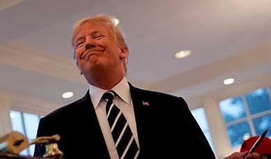 """Encubren funcionarios """"declive mental"""" de Trump"""