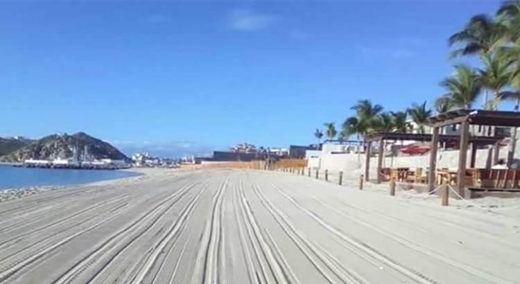 57 playas limpias en Los Cabos