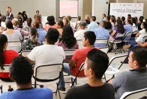 """el foro: """"Diagnóstico y Avance de la Igualdad Sustantiva en Los Cabos"""" donde participaron más de 60 enlaces de género."""