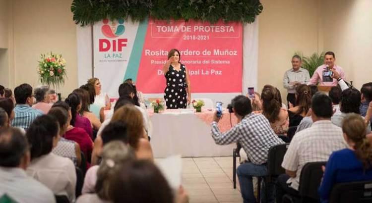 Rinde protesta Rosita Cordero