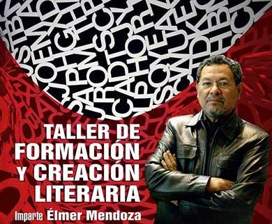 Impartirá taller Elmer Mendoza