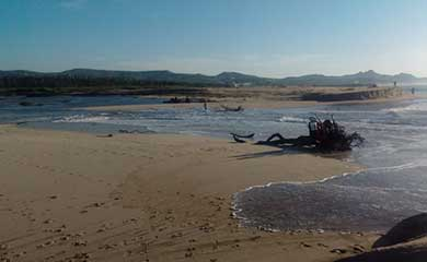 Abren corrientes pluviales bocana del Estero Josefino