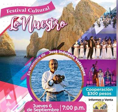 """Asiste al Festival Cultural """"Lo nuestro"""""""