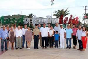 """acto inaugural de las actividades cívicas, culturales y deportivas de septiembre """"Mes de la Patria"""","""
