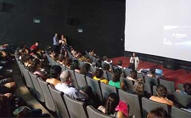 """Lleno total en la conferencia """"El Rebozo"""""""