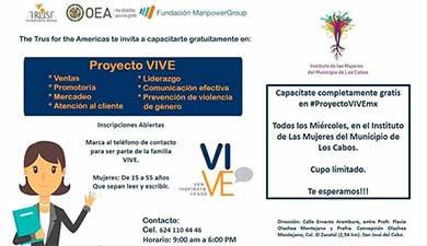 """Intégrate al proyecto """"Vive"""""""