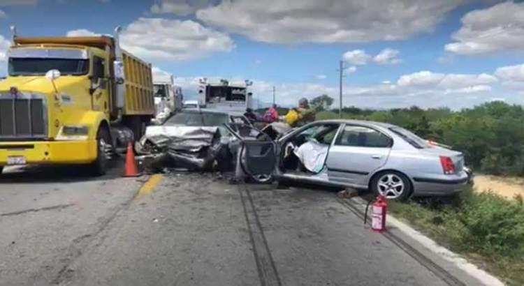 Fatal accidente en Santa Anita