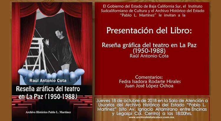 Presentarán Reseña Gráfica del Teatro en La Paz