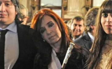 Va Argentina por los hijos de Cristina Fernández