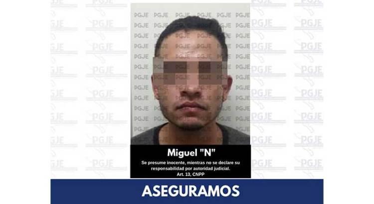 Con más de 600 dosis de cristal agarraron a Miguel