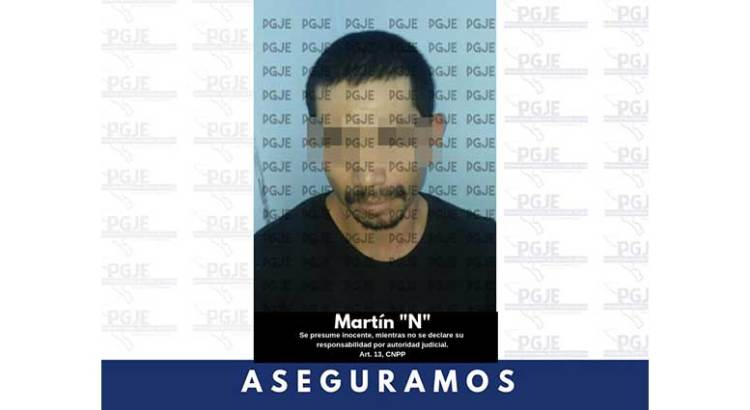 """Agarraron a Martín """"N"""" con cristal"""