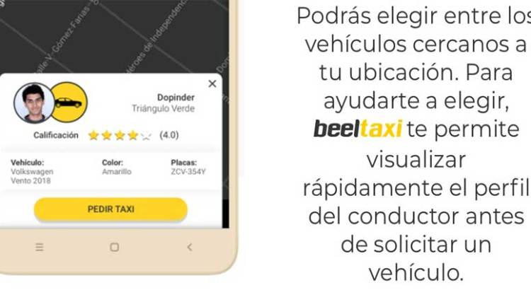 Lanzan taxistas cabeños su plataforma digital