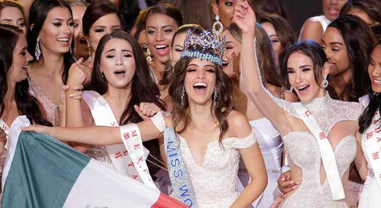Gana mexicana el Miss Mundo 2018