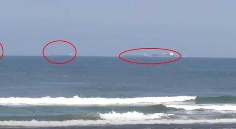 Varados 24 buques en Veracruz