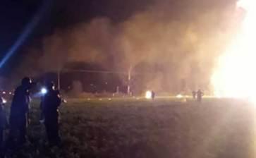 Aumenta a 71 la cifra de heridos por explosión de ducto