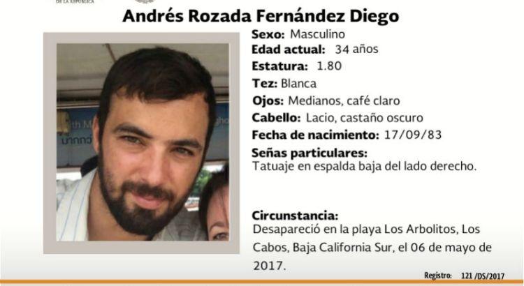 ¿Has visto a Andrés Rozada Fernández?