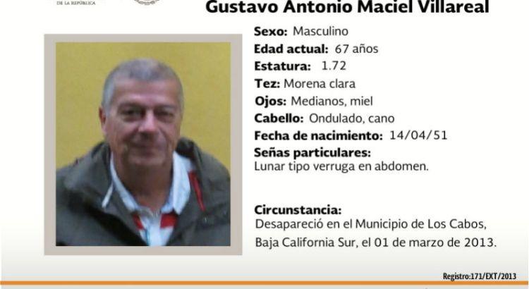 ¿Has visto a Gustavo Antonio Maciel?