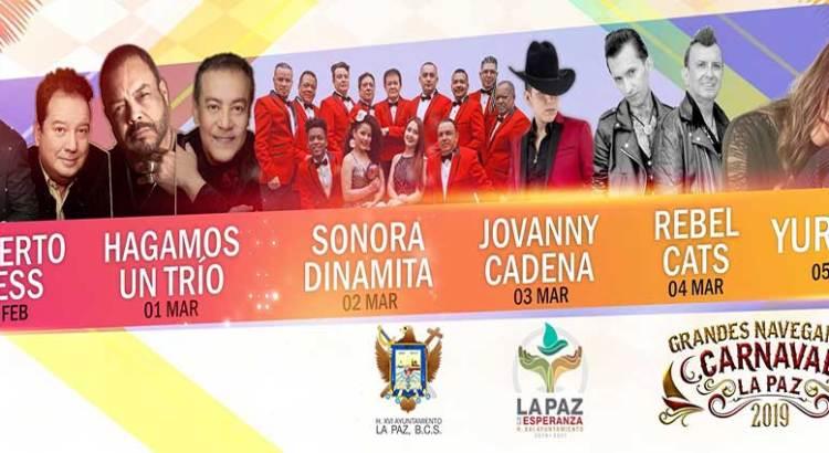 Grandes talentos locales en el Carnaval La Paz