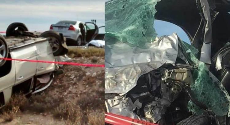 Fatal encontronazo entre vehículos del Gobierno estatal