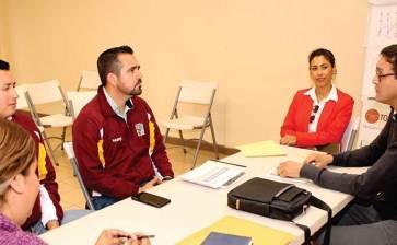 Se reúnen con INSUDE titular del Deporte de Mulegé