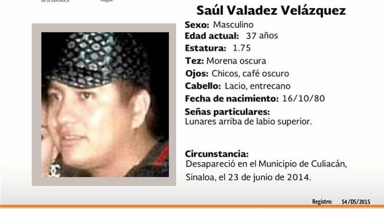 ¿Has visto a Saúl Valadez Velázquez?
