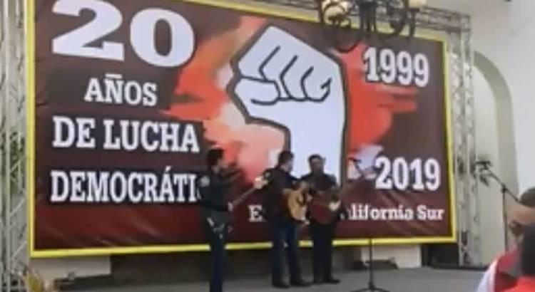 """Festejaron """"las izquierdas"""" 20 años de """"lucha democrática"""""""