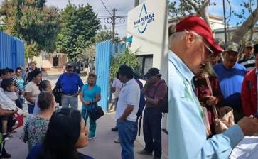 Piden Antorchistas a OOMSAPAS introducir servicios en La Ballena