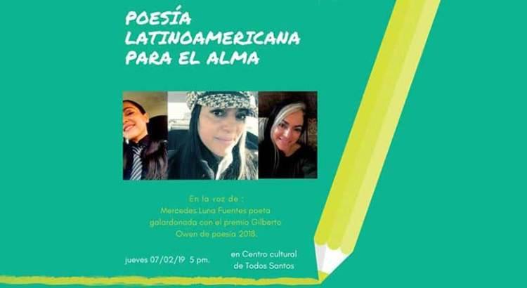 Una tarde de poesía con Mercedes Luna Fuentes