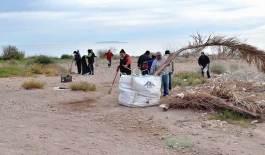 Campaña de limpieza en Los Frailes