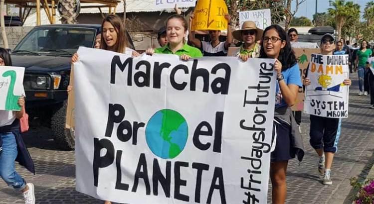 """Marcharon """"Por el Planeta"""" en Los Cabos"""